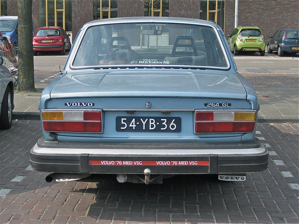 Volvo 264 Gl Automatic 1976 6 Cylinder Engine Runs On