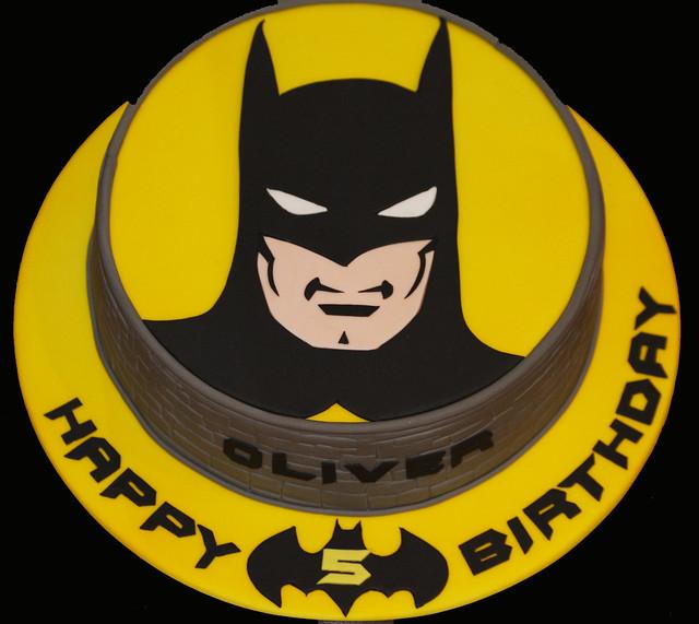 Batman Sponge Cake