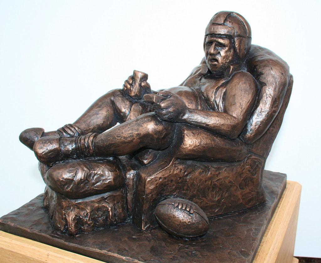 Fantasy Football Trophy Armchair Quarterback Fantasy
