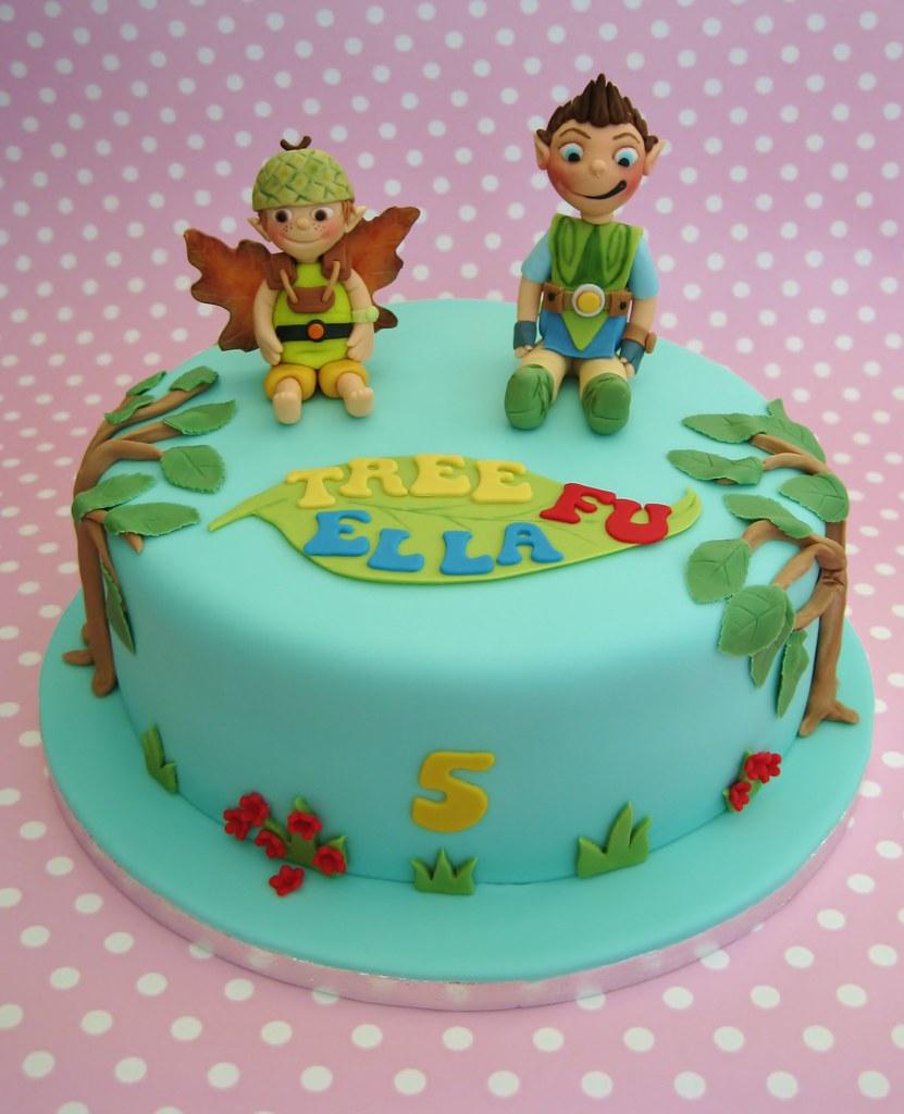 Tree Fu Tom birthday cake  CBBC TV characters. Just been to ...