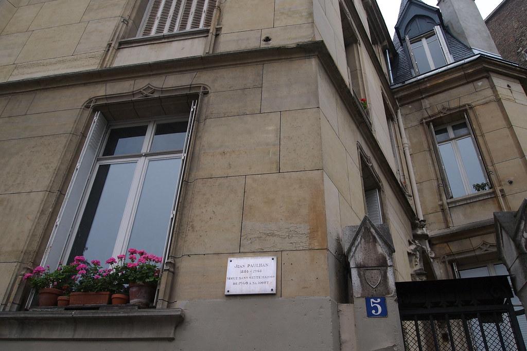 Ancienne maison de jean paulhan 5 rue des ar nes paris - Maison de l islande paris ...