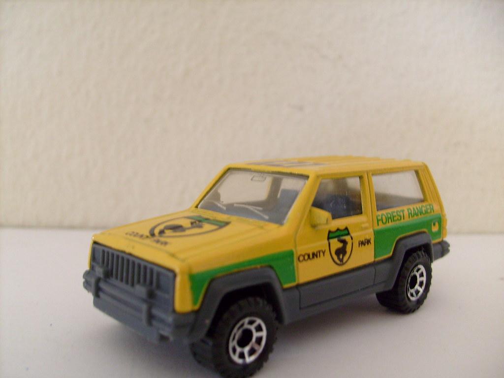 Matchbox Jeep Cherokee Forest Ranger 1 64 Nice Matchbox