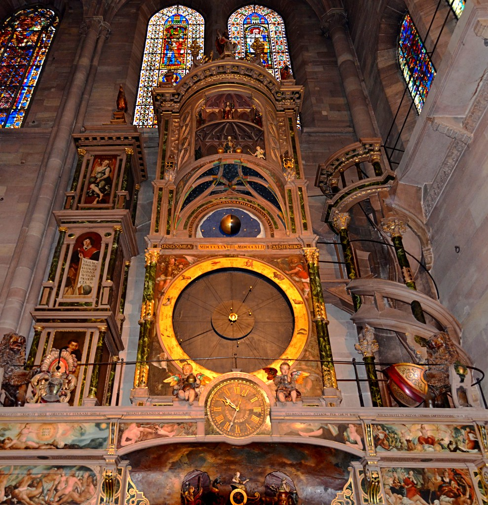 Strasbourg Cathedral: Astronomical Clock | On day 2 of our ...