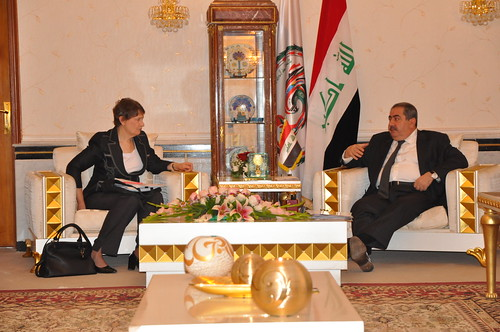 Helen Clark Visit to Iraq - December 2012 | by UNDP in the Arab States