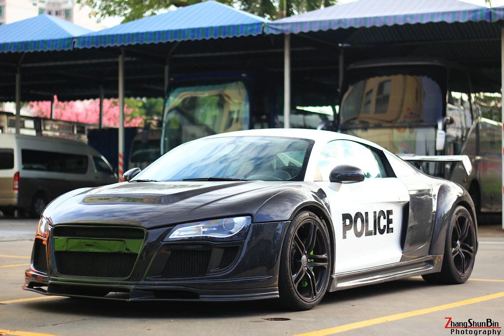 Audi R8 Police Car 張 舜彬 Flickr