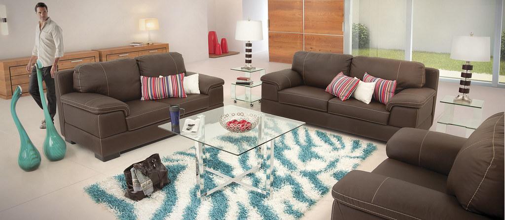 Sala Blum Piel V Placencia Muebles : Placencia Muebles : Flickr