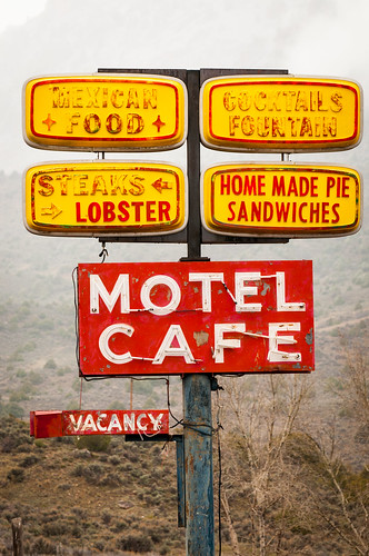cimarron motel cafe | by Sam Scholes