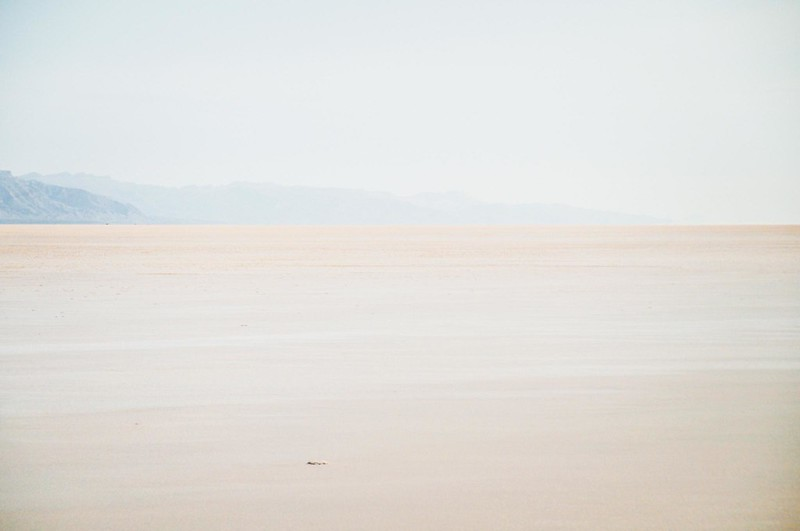 Salted lake, Tunisia