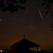 Geminid Meteor and Jupiter