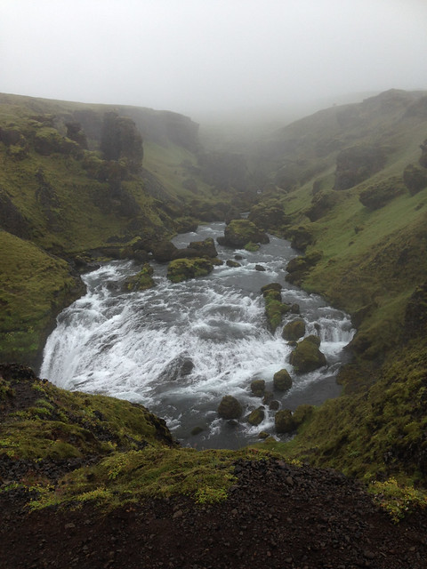 Iceland 2016 - white water