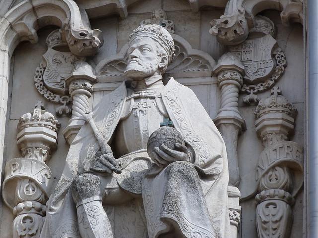 Carlos V en Malinas (Flandes)