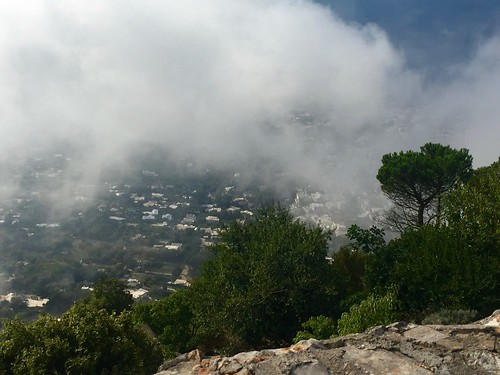 Fog/clouds atop Capri | by steven_d_krause