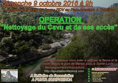 L'affiche de l'opération du 9 octobre 2016