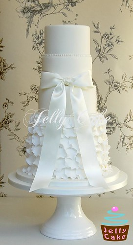 how to make a 5 tiered wedding cake 5 tier frills wedding cake a 5 tier version of my frills 15790
