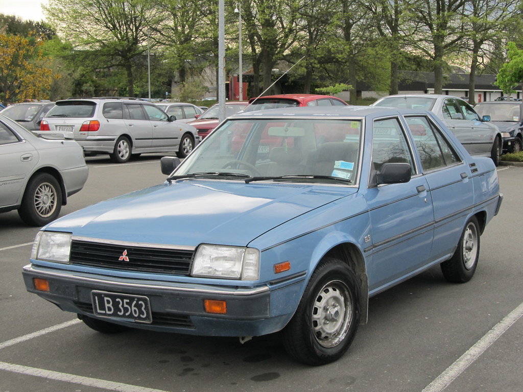 1983 Mitsubishi Tredia 1 6 Gls Lb3563 I First Spotted This Flickr