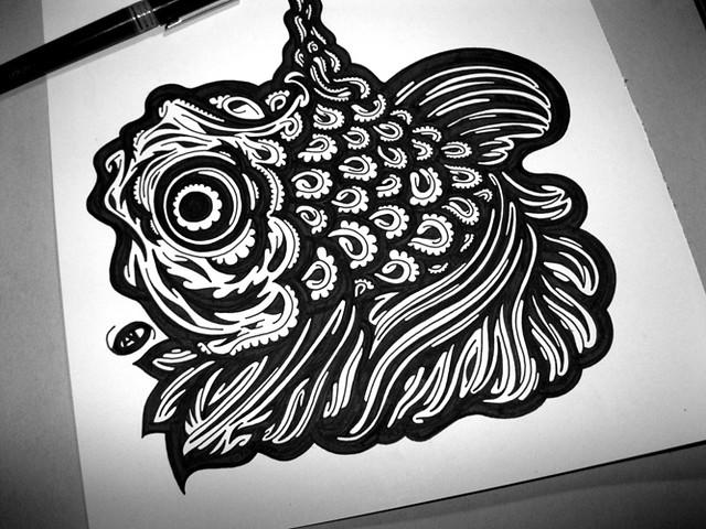 Petit poisson rouge flickr photo sharing for Petit poisson rouge