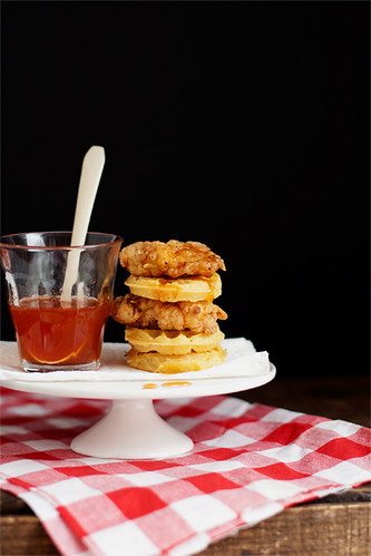 Pint-Size Chicken 'n' Waffles | by Cindy | Hungry Girl por Vida