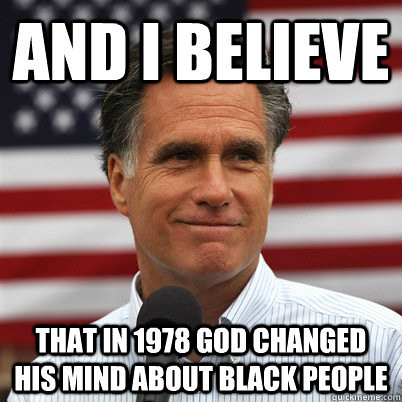 Mormonism black people are cursed and devilish or at le - Jackson county missouri garden of eden ...