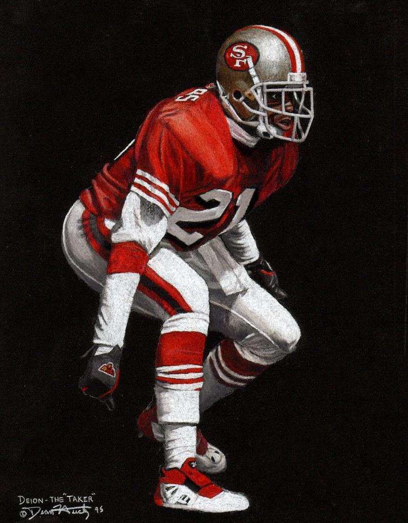 deion sanders 49ers wallpaper wwwimgkidcom the image