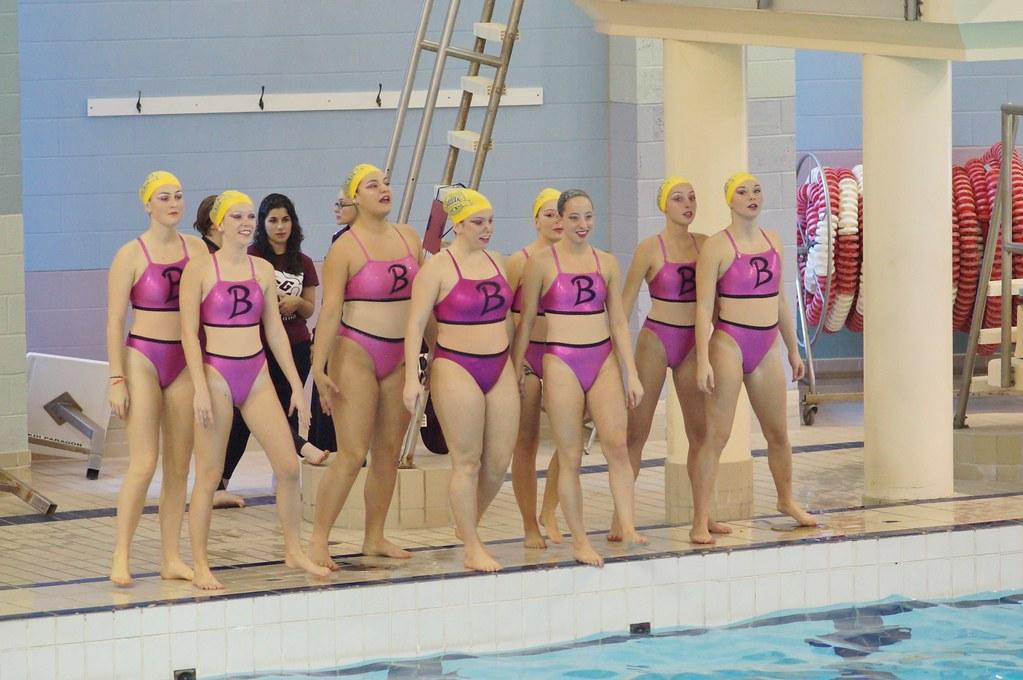 College synchronized swimming john abbott college mggill for College john abbott piscine
