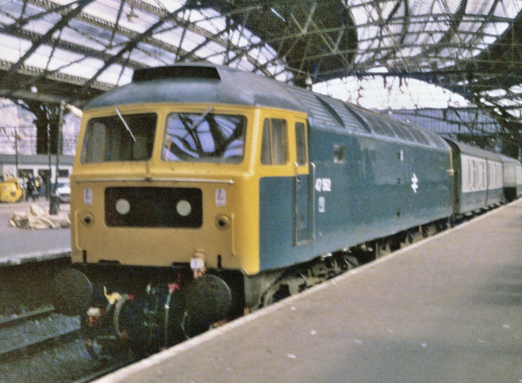 47562 Arrived On The Block Of Platform 9 At Liverpool Lime Street With A Train From