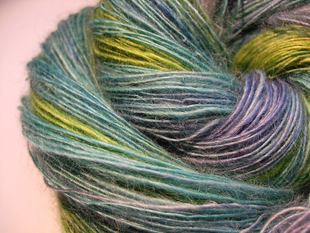 Knitting Patterns For Wensleydale Wool : Handspun yarn wensleydale Flickr - Photo Sharing!
