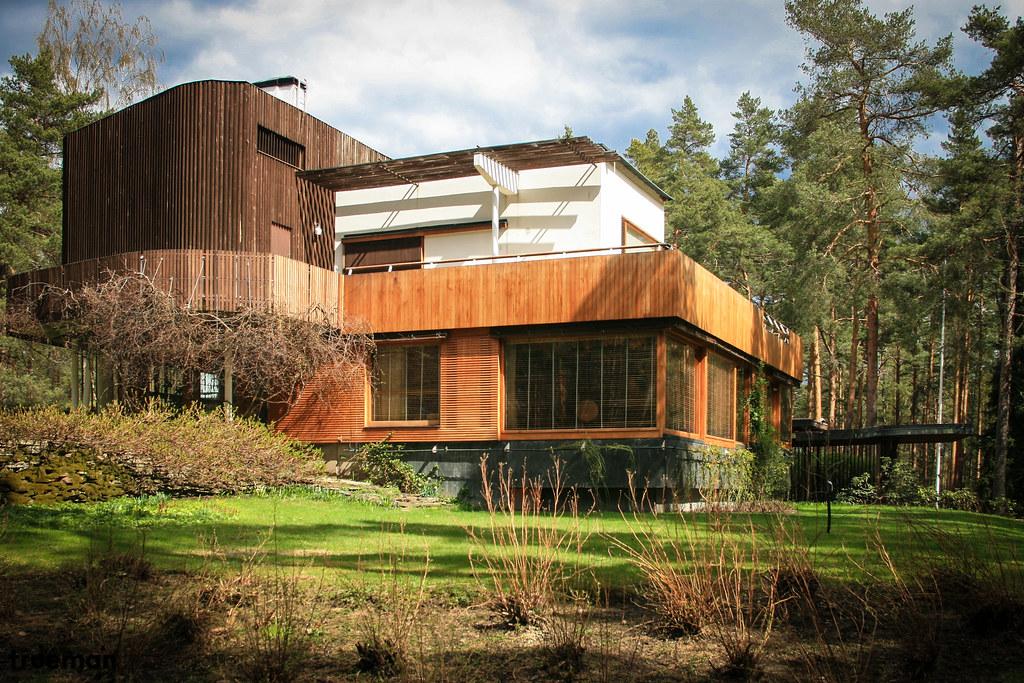 Villa mairea 1937 1939 alvar aalto trueman - Architecture organique frank lloyd wright ...