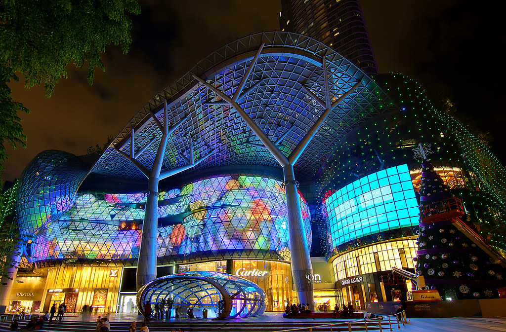 Presenting The Real Ion Ion Orchard Shopping Mall At
