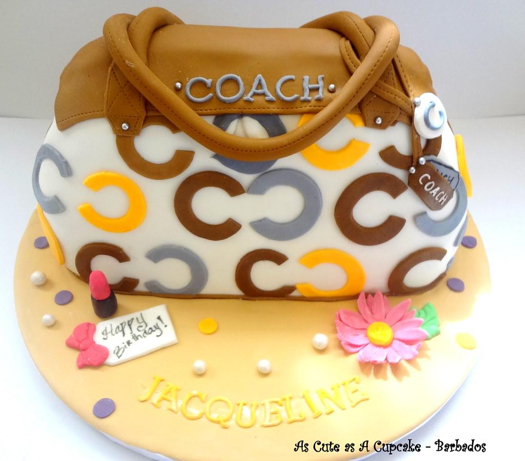 Jacquelines Coach Purse Birthday Cake Joanna Flickr