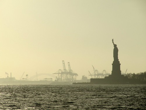 Statue of Liberty in the Fog | by sobodda