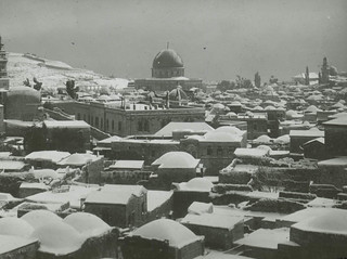 Jerusalem Under Snow | by Center for Jewish History, NYC