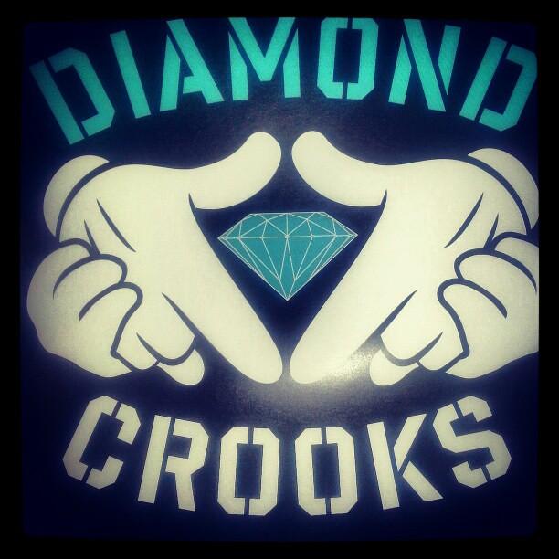 Diamond X Crooks Diamondlife Diamondghettokid Diamondls TsB THESNEAKERBAR