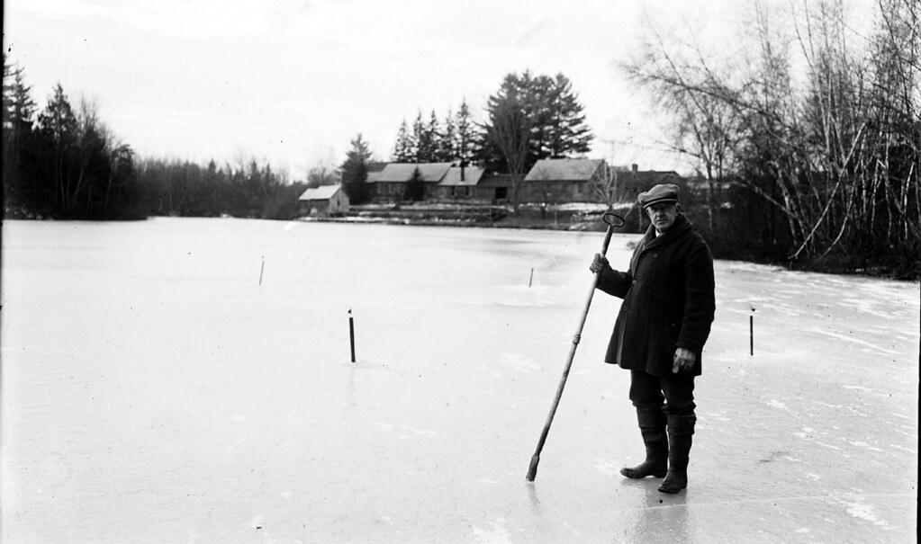 Ice Fishing Gb 2612 H L Chapman Photographer
