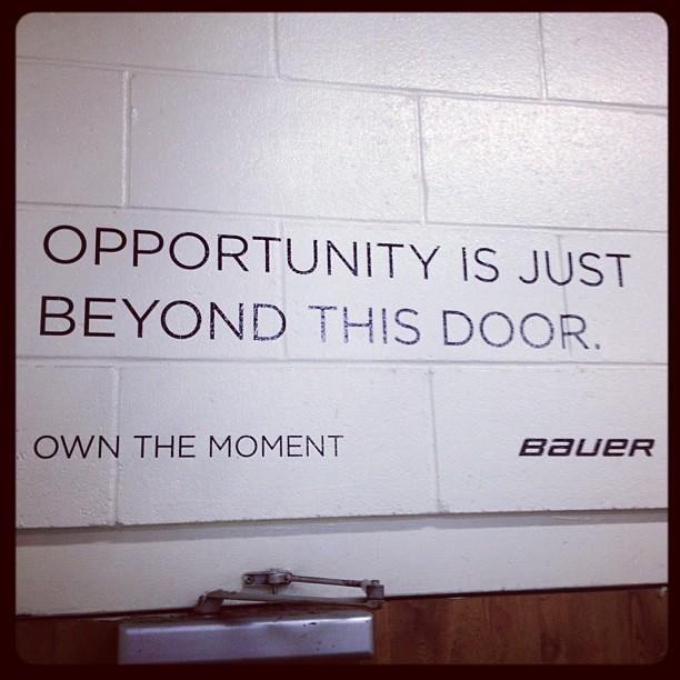 Hockey Locker Room Door Signs
