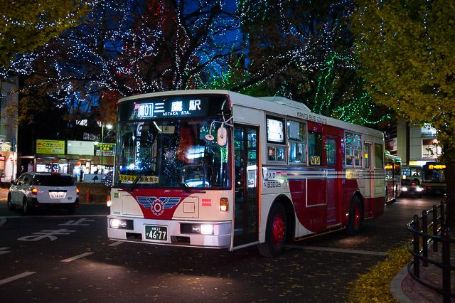 関東バス 青梅街道営業所 B3008...
