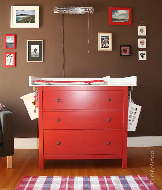 Selbsgebauter Wickeltischaufsatz Fur Die Ikea Hemnes Kommo Flickr