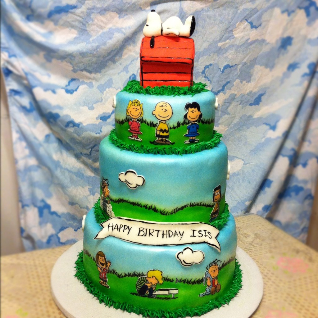 Peanuts Cake Decorations