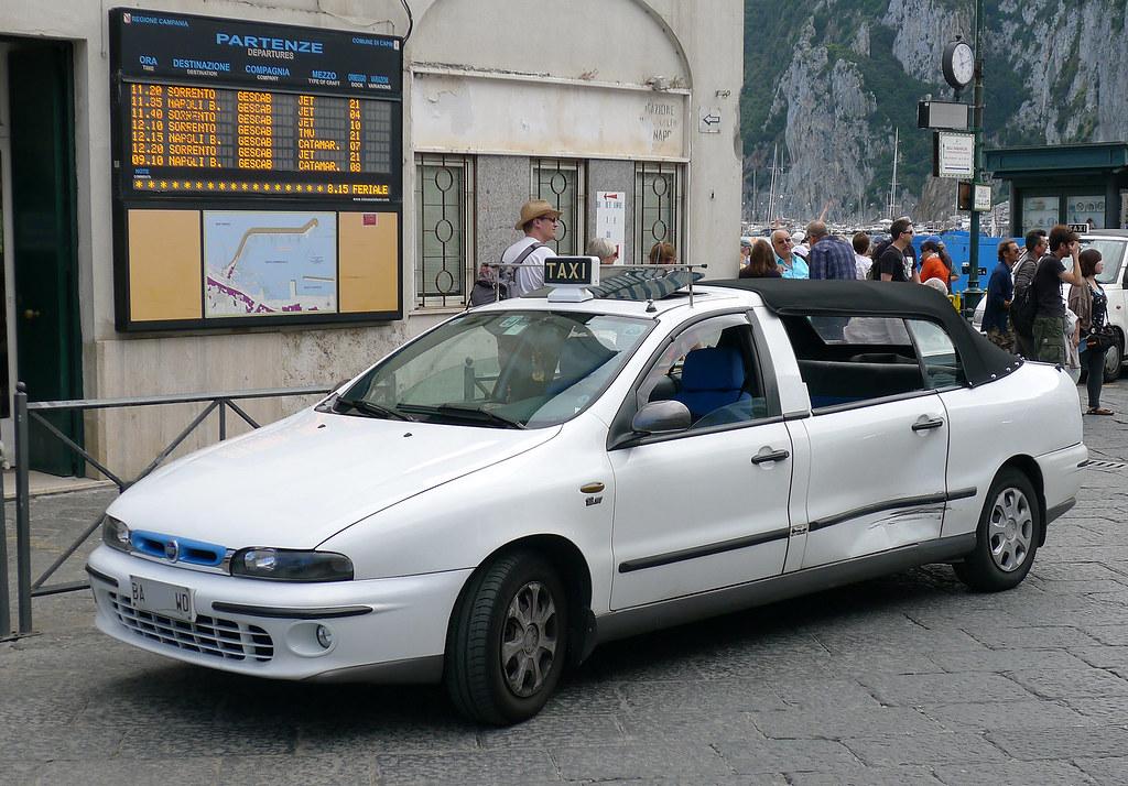Fiat Marea Taxi De Capri Anacapri I Baffalie Flickr