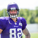 Vikings Training Camp 2016 - Kyle Rudolph