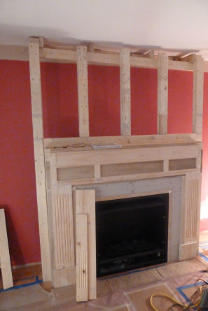 Fireplace Surround Frame Jjsleazewhiskey Flickr