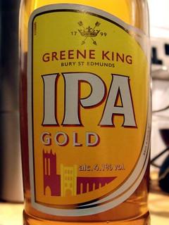 Greene King, IPA Gold, England
