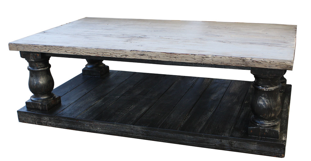 Postobello Coffee Table Built From Reclaimed Wood Salvaged