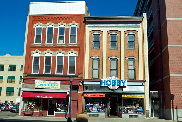 scranton hobby store and coney island lunch explore brad c flickr photo sharing. Black Bedroom Furniture Sets. Home Design Ideas