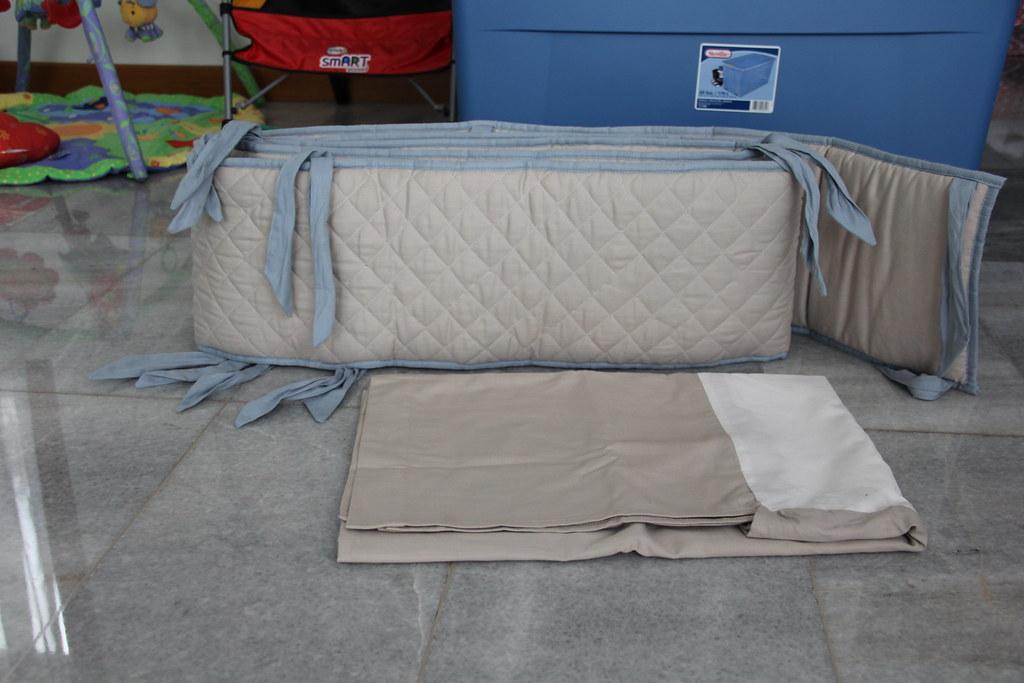 Img 1149 Restoration Hardware Baby Crib Bumper And