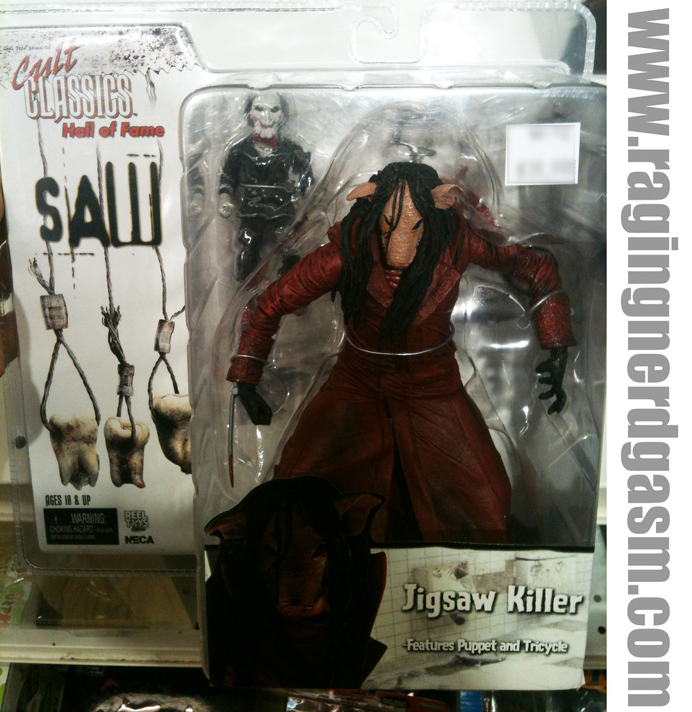 Cult Classics Hall Of Fame Saw 3 Jigsaw Killer By NECA 001