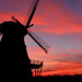 Sunset at the Fabyan Windmill