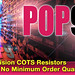 VPG Announces Guaranteed In-Stock Availability of POP9 Precision COTS Resistors With No Minimum Order Quantity