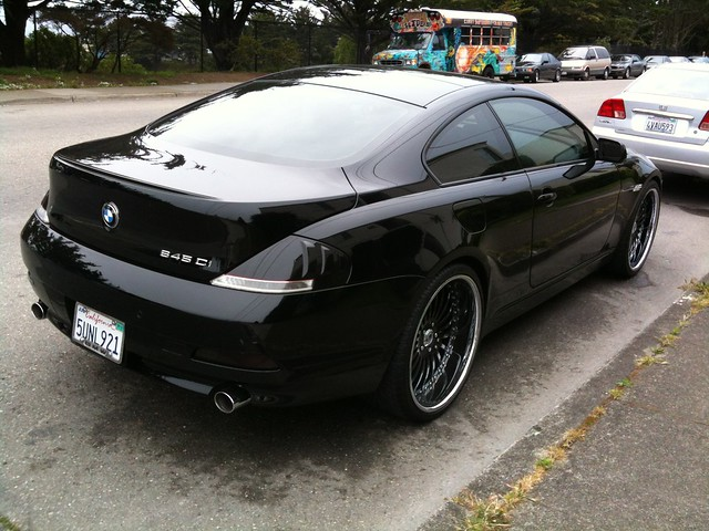 bmw 645ci i saw this on the street and thought it looked. Black Bedroom Furniture Sets. Home Design Ideas