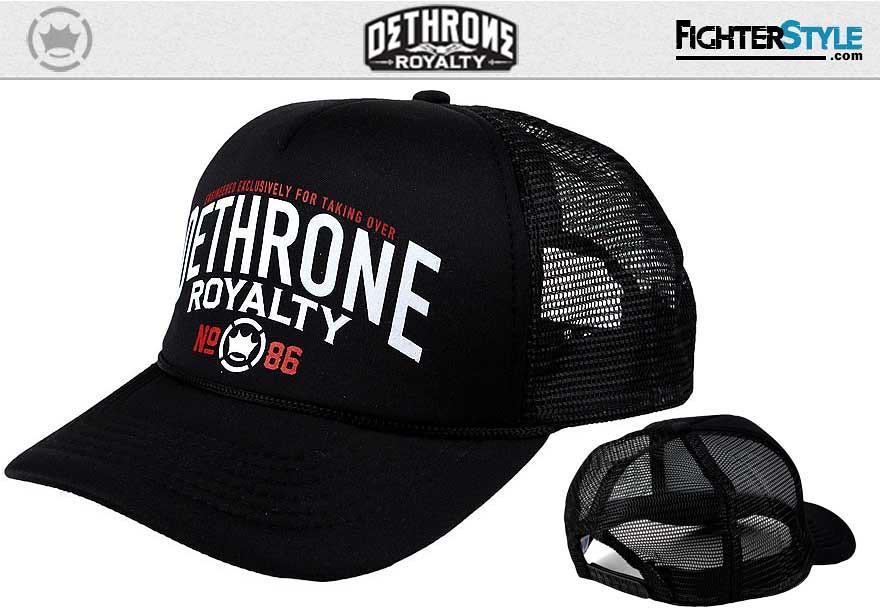 0be1bf7fbd0 ... Dethrone Corp Trucker Hat - MMA Clothing