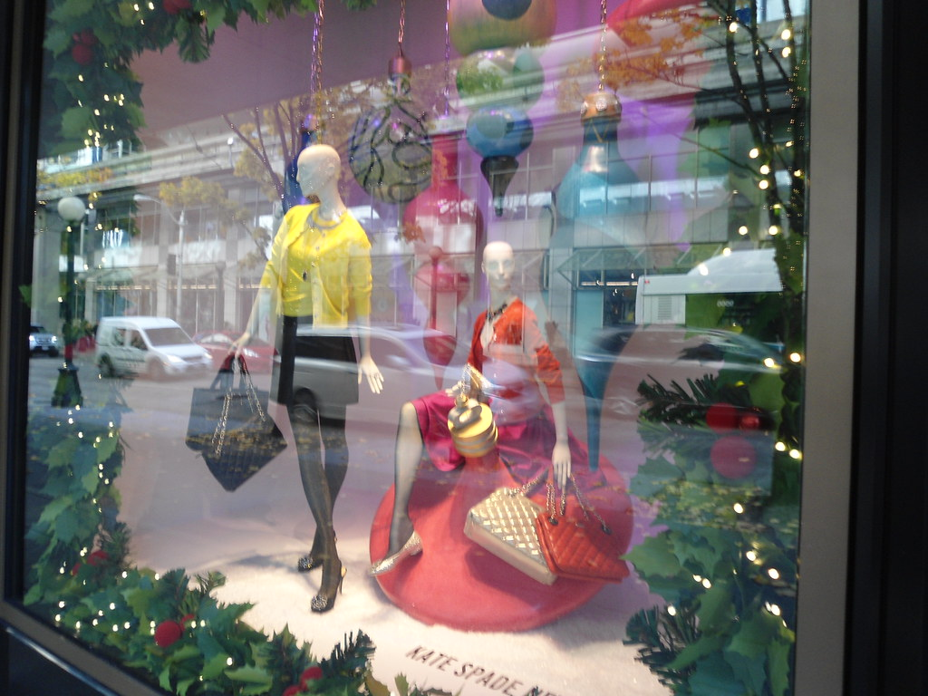 Nordstrom Christmas Windows Kate Spade Downtown Seattle | Flickr